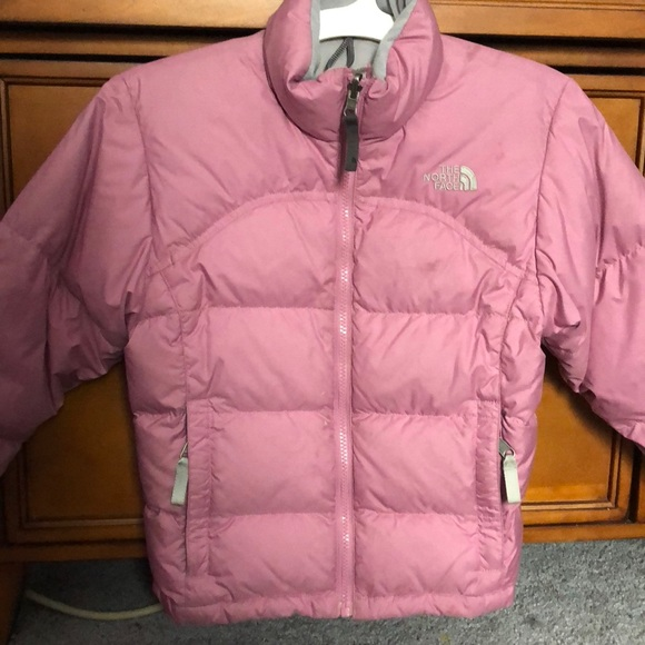 6cfb780bd NORTH FACE 600 down pink puffer jacket girls small